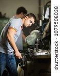 metal manufacturing engineers...   Shutterstock . vector #1079508038