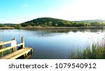 calm river nature green... | Shutterstock . vector #1079540912