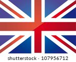 flag london background. vector illustration