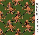 seamless geometrical pattern...   Shutterstock .eps vector #1079573552