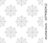 spider web icon seamless... | Shutterstock . vector #1079582912