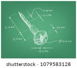 manufacturing and industry ... | Shutterstock .eps vector #1079583128