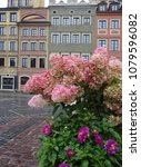 old town square in warsaw... | Shutterstock . vector #1079596082