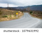 road trip with the natural view ... | Shutterstock . vector #1079631992