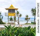 gold coast  australia  ... | Shutterstock . vector #1079647085
