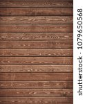 old brown wooden plank wall...   Shutterstock . vector #1079650568