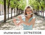 classical music concept.... | Shutterstock . vector #1079655038