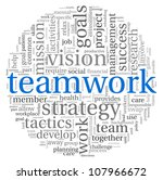 teamwork and strategy concept... | Shutterstock . vector #107966672
