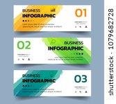 set of infographics banners... | Shutterstock .eps vector #1079682728