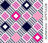square stripe pattern geometric ... | Shutterstock .eps vector #1079711228