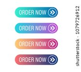 order now button set. vector... | Shutterstock .eps vector #1079726912