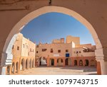 main square in el atteuf  one... | Shutterstock . vector #1079743715