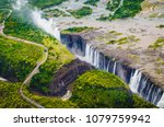 victoria falls  tokaleya tonga  ... | Shutterstock . vector #1079759942