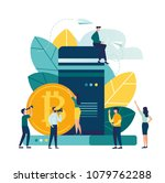 vector illustration  flat style ...   Shutterstock .eps vector #1079762288
