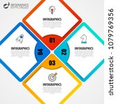 infographic design template.... | Shutterstock .eps vector #1079769356