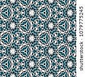 hexagonal symmetry vector... | Shutterstock .eps vector #1079775245