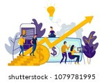 vector illustration of virtual... | Shutterstock .eps vector #1079781995