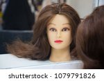 Head Of A Woman Dummy With Lon...