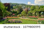botanical gardens in the villa... | Shutterstock . vector #1079800595