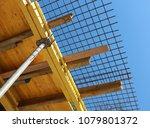 pillar armature and iron rods   ... | Shutterstock . vector #1079801372