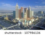 new york new york hotel and...   Shutterstock . vector #107986136