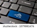 web mail computer keyboard... | Shutterstock . vector #1079881676