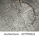 full frame weathered wood closeup - stock photo