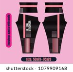 leggings pants fashion... | Shutterstock .eps vector #1079909168