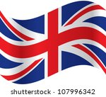 official flag of great britain   Shutterstock .eps vector #107996342