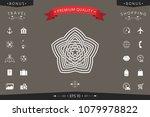 geometric oriental arabic... | Shutterstock .eps vector #1079978822