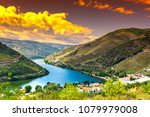 travel in river douro region in ... | Shutterstock . vector #1079979008