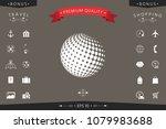 earth symbol   logo design   Shutterstock .eps vector #1079983688