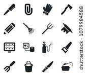 set of vector isolated black... | Shutterstock .eps vector #1079984588