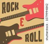 rock and roll  music festival... | Shutterstock .eps vector #1079994842
