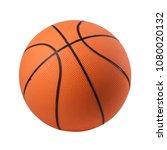 basketball isolated on white...   Shutterstock . vector #1080020132