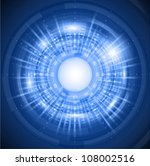 abstract circular design | Shutterstock .eps vector #108002516