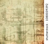 grunge retro texture  elegant... | Shutterstock . vector #1080039392