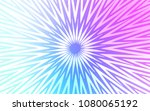 light pink  blue vector cover... | Shutterstock .eps vector #1080065192