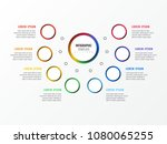 eight steps design layout... | Shutterstock .eps vector #1080065255