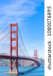 golden gate bridge in san... | Shutterstock . vector #1080076895