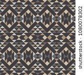 ethnic boho seamless pattern.... | Shutterstock .eps vector #1080078302