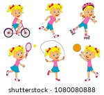 Girl Sports Activities Set ...