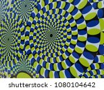abstract blue background  spin... | Shutterstock . vector #1080104642