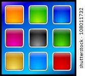 internet web button set | Shutterstock . vector #108011732