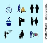 icons about human with feeling  ... | Shutterstock .eps vector #1080127802