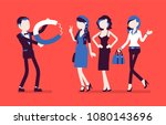 male super magnetism. exciting... | Shutterstock .eps vector #1080143696
