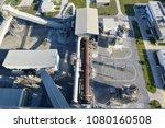 cement plant in devnya ... | Shutterstock . vector #1080160508