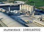 cement plant in devnya ... | Shutterstock . vector #1080160532