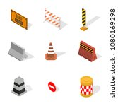 set of different signs road...   Shutterstock . vector #1080169298