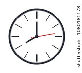 clock icon for website design... | Shutterstock .eps vector #1080181178